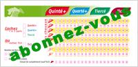 Tickets Tierce : Abonnez-vous pour accéder aux tickets Tierce